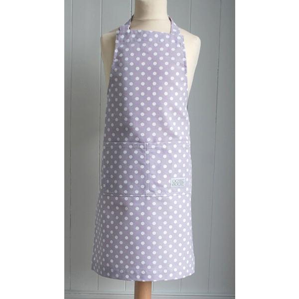 Wipe Clean Madelaine Lavender Children's Apron