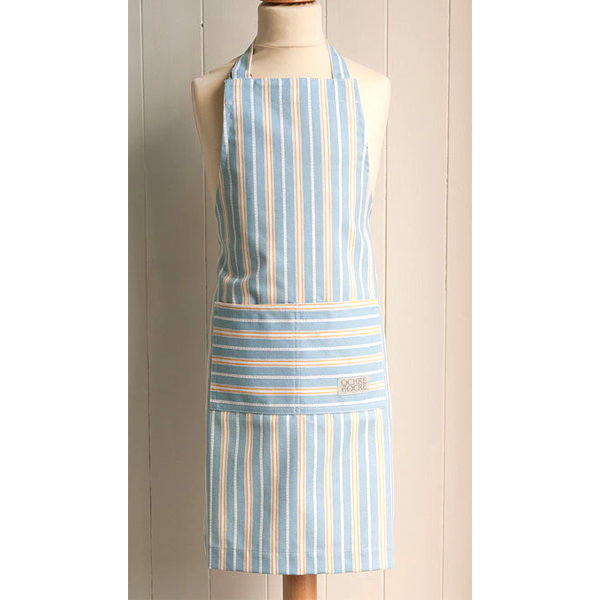 Wipe Clean Malvern Lapis Ochre Children's Apron