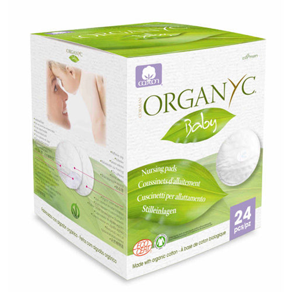 Organyc Organic Cotton Nursing Pads