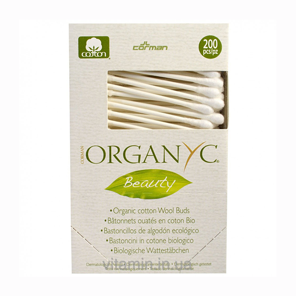 Organyc Organic Cotton Wool Buds