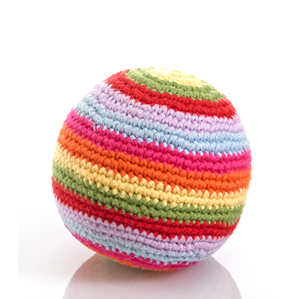 Multi Coloured Ball Baby Rattle