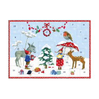 Advent Calendar - Pippa and Pelle in the Snow - medium