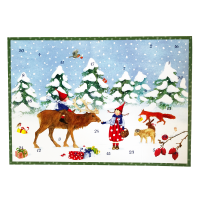 Advent Calendar - Winter with Pippa and Pelle - small