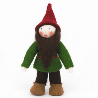Ambrosius Woodland Gnome Red