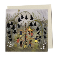 Gemma Koomen - In and Out the Dusky Bluebells Card