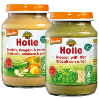 Holle Organic Baby Vegetable Lunchtime Set - 1