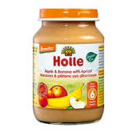 Holle Organic Apple & Banana with Apricot Baby Food