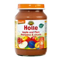 Holle Organic Apple & Plum Baby Food