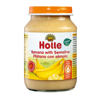 Holle Banana with Semolina Baby Food