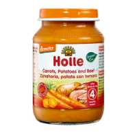 Holle Organic Carrots, Potatoes and Beef Baby Food