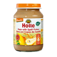Holle Organic Pear with Spelt Flakes Baby Food
