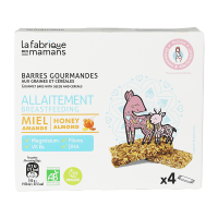 La Fabrique des Mamans - Breastfeeding Bar (4 pack)