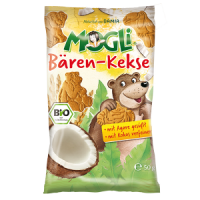 Mogli's Organic Mini Bear Biscuits with COCONUT
