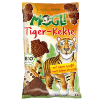 Mogli's Organic Mini Tiger Biscuit with Cocoa