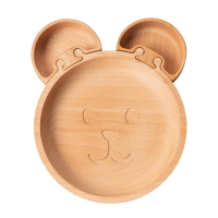 Wooden Bear Jigsaw Plate