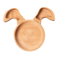 Wooden Rabbit Jigsaw Plate