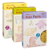 Alb-Gold Organic Pasta Shapes for Babies and Kids - Animals Multi-pack