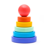 Bajo Wooden Rainbow Stacker