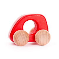 Bajo Wooden Mini Car - Red