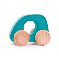 Bajo Wooden Mini Car - Turquoise