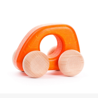 Bajo Wooden Mini Car - Orange
