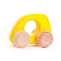 Bajo Wooden Mini Car - Yellow