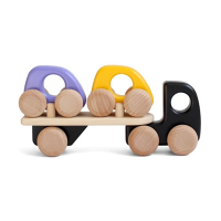 Bajo Wooden Car Transporter