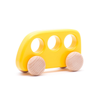 Bajo Wooden Bus - Yellow
