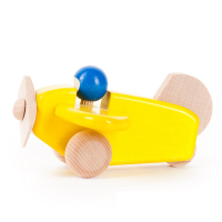 Bajo Wooden Plane - Yellow