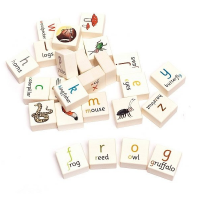 Bajo Wooden Gruffalo Alphabet Blocks