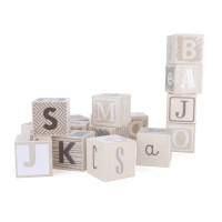 Bajo Wooden Alphabet Blocks