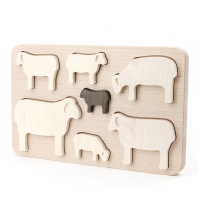 Bajo Wooden Sheep Puzzle