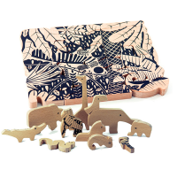 Bajo Wooden Jungle Puzzle