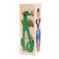 Bajo Princess and Dragon Story Blocks