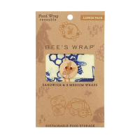 Bee's Wrap Lunch Pack - Bees & Bears