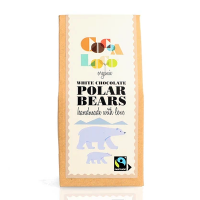 Cocoa Loco Organic Milk Chocolate Polar Bears