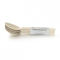 Ekobo Bambino Small Spoon Set White
