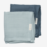 Fabelab Organic Muslin Cloth 2 Pack - Sea