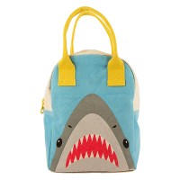 Fluf Zipper Lunch Bag - Shark