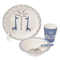 Fresk  Bamboo Dinner Set - Giraffe