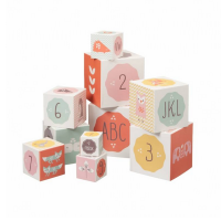 Fresk Nesting & Stacking Blocks - Pink