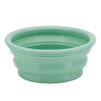 Hevea Pet Bowl On The Go - Pale Mint