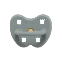 Hevea Natural Orthodontic Soother Gorgeous Grey 3-36 months