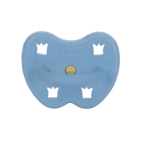 Hevea Natural Orthodontic Soother Skye Blue 3-36 months