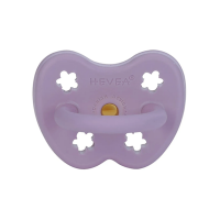 Hevea Natural Orthodontic Soother Lavender 3-36 months