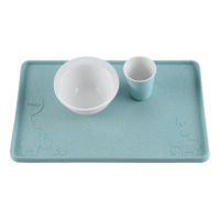 Hevea Natural Rubber Placemat - Blue