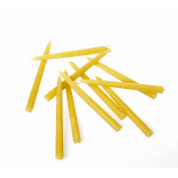 Hohenfried Beeswax Birthday Candles - Natural