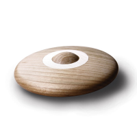Hohenfried Wooden Disc Rattle