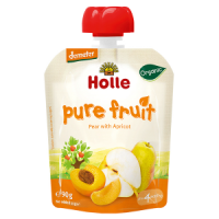 Holle Baby Food Pouches - Pear with Apricot