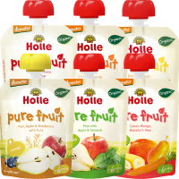Holle Organic Weaning New Tastes Pouchy Variety Pack